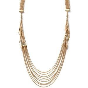 Cabi Gold Riviera necklace/bracelet NWOT
